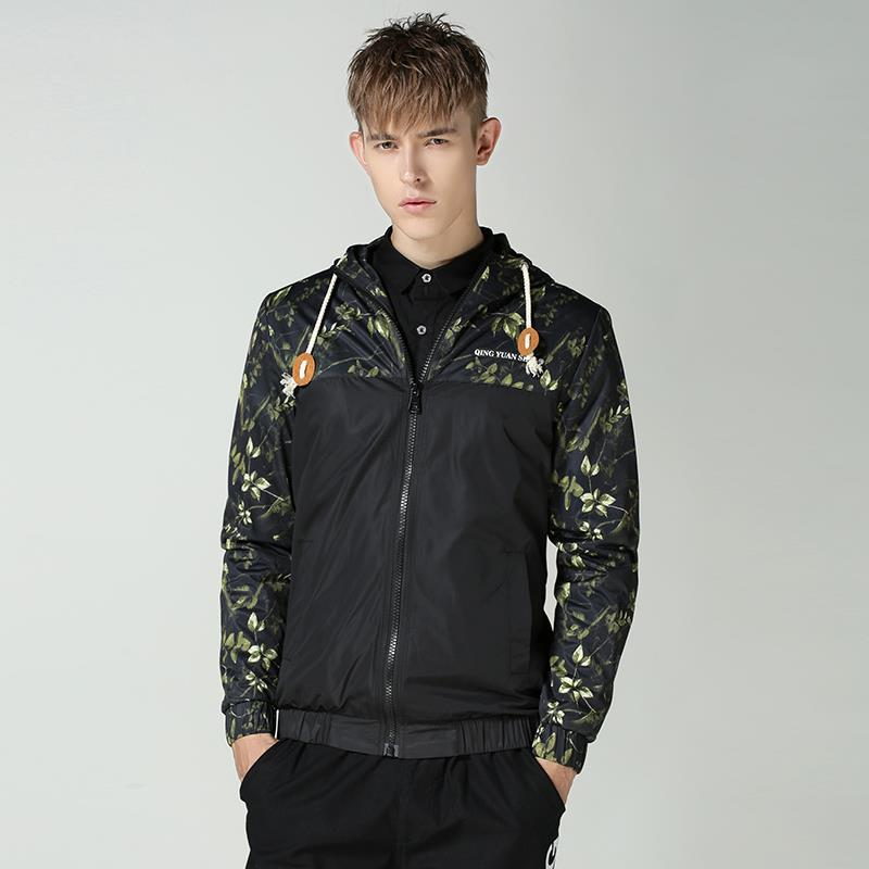 Compare Prices on Floral Men Bomber- Online Shopping/Buy Low Price