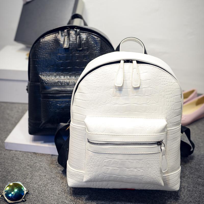 2015 mode féminine véritable sac à dos en cuir sac à dos vente chaude tissé cuir pu femmes sac à dos femme Designer(China (Mainland))
