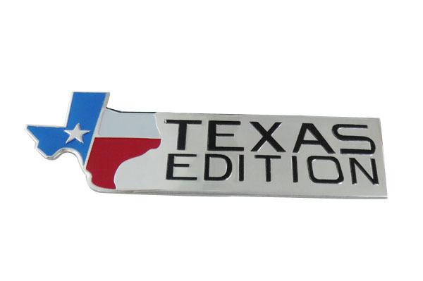 Aluminum Auto TEXAS EDITION for F150 F250 F350 F450 F550 Emblem Badge Sticker(China (Mainland))