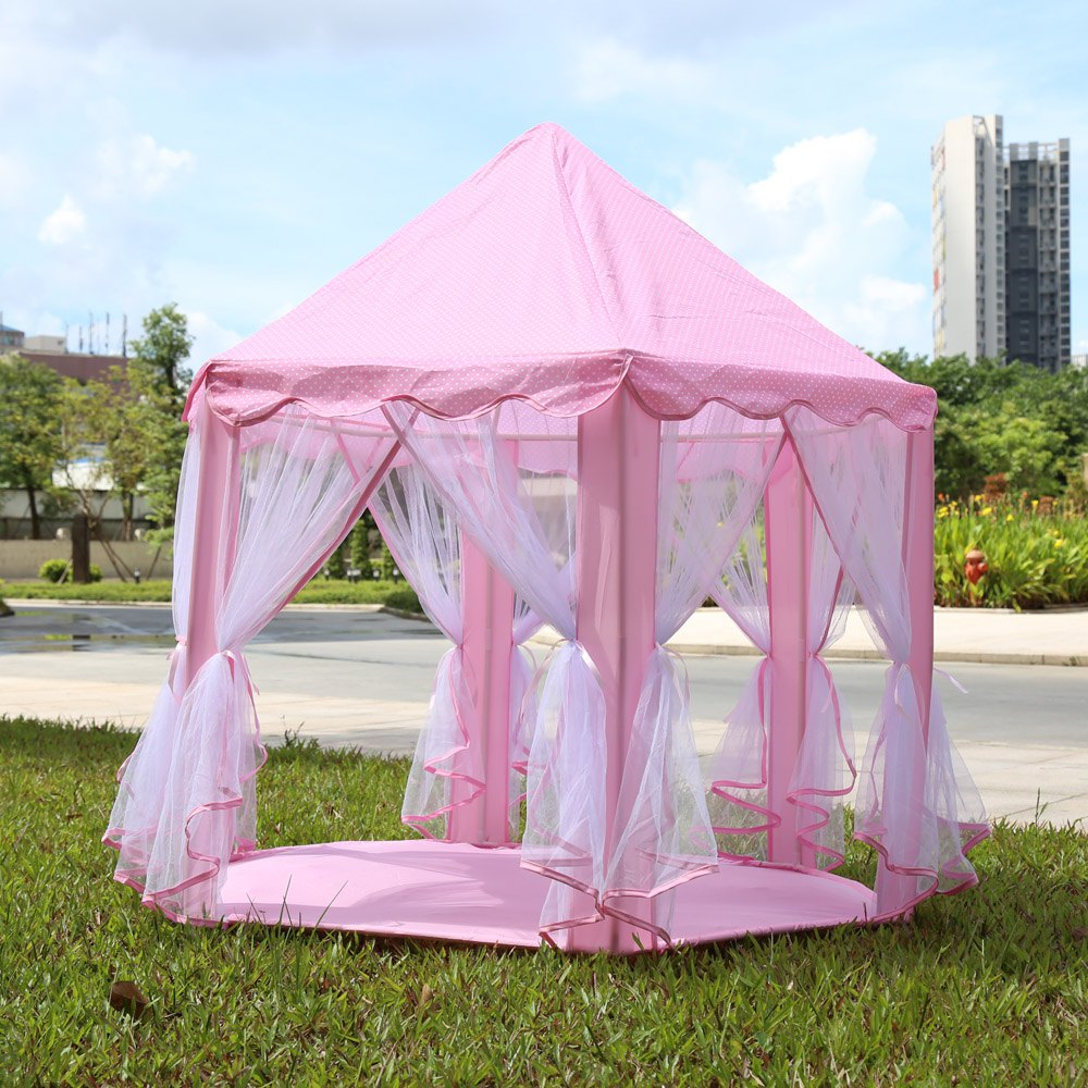 Portable Princess Castle Play Tent Children Activity Fairy House kids Funny Indoor Outdoor Playhouse Beach Tent Baby playing Toy(China (Mainland))
