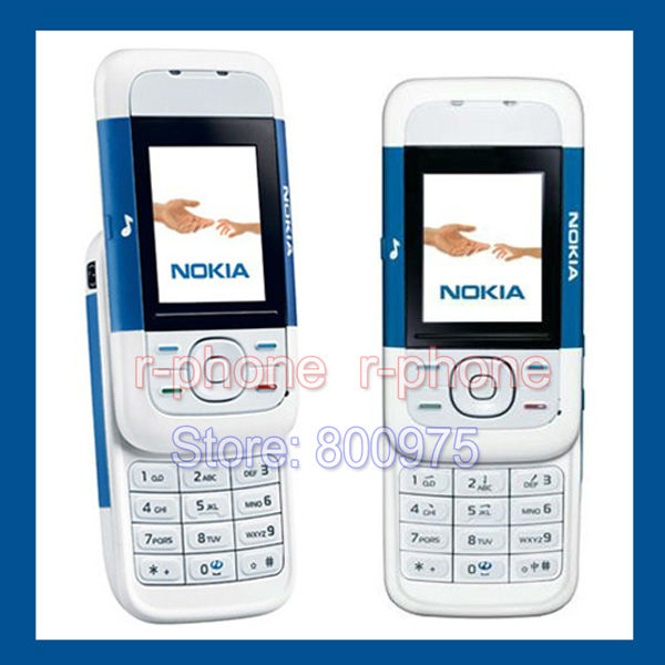 Cheap Original Nokia 5200 Mobile Phone Classic Slider Music Phone GSM Refurbished Unlocked(China (Mainland))