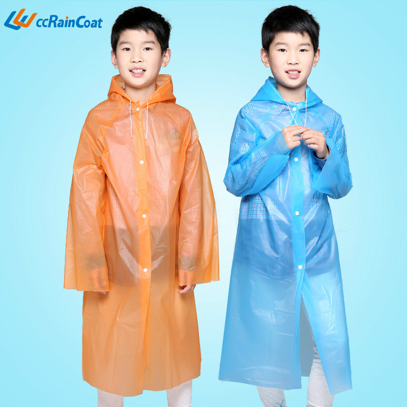 Free shipping baby poncho rain gear Size fits all fashion cartoon child raincoat Plastic Raincoat Impermeable Clear Raincoat(China (Mainland))