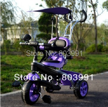 The new children tricycle baby bike bicycle stroller(China (Mainland))
