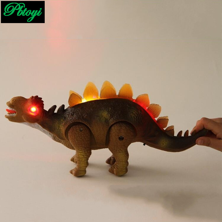 The new large electric dinosaur simulation of sound light electric dinosaur reptile animal factory direct hot PI0765(China (Mainland))