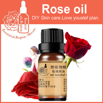 Free shopping! Essential oils Oil kingdom, 100% pure England Rose essential oils 10ml Spot Whitening wrinkle removal(China (Mainland))