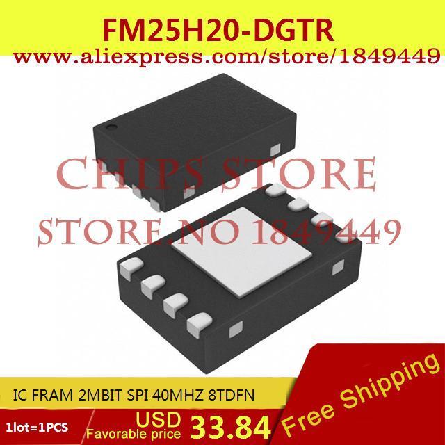 Бесплатная Доставка Электронные Компоненты FM25H20-DGTR IC FRAM 2 МБИТ SPI 40 МГЦ 8 TDFN 25H20 FM25H20 1 ШТ. fram ph6355