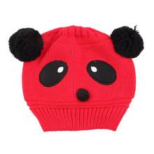 1x Hot Sale Lovely Animal Panda Baby Hats And Caps Kids Boy Girl Crochet Beanie Hats