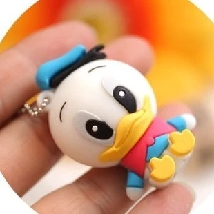 2016 new arrival cute Duck USB Flash Drives 64GB 32GB 16GB 8GB pen drive usb 2.0 stick, full size flash card pen/thumbdrives(China (Mainland))