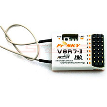 2016 Hottest FrSky V8R7-II 2.4G 7CH Receiver Low Shipping Fee Fast Shipping