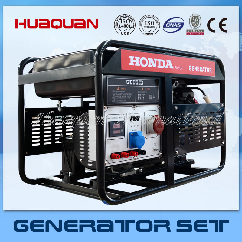 World Famous Brand Home Use Honda Gasoine Generator 10kw