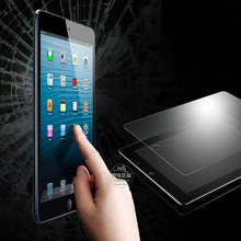 10pcs/lot For ipad mini Premium clear Tempered Glass Screen Protector For iPad mini 2 Retina Guard Film Explosion-Proof FLM0400(China (Mainland))