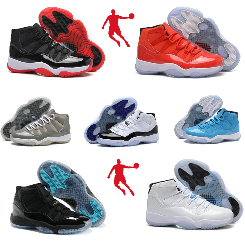 2015 New Cheap China Jordan 11 White Red Gray Mens and Womens Basketball Athletic Shoes High Quality Retro Accept drop shipping.(China (Mainland))