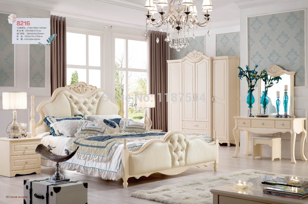8216 Wholesale Price Furniture Manufacturer Factory Price Double Bed King Size Luxurious Grand