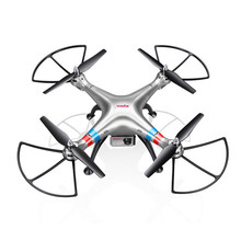 HL Syma X8G 2.4G 4CH With 8MP HD Camera Headless Mode RC Quadcopter FPV Drone Apr5