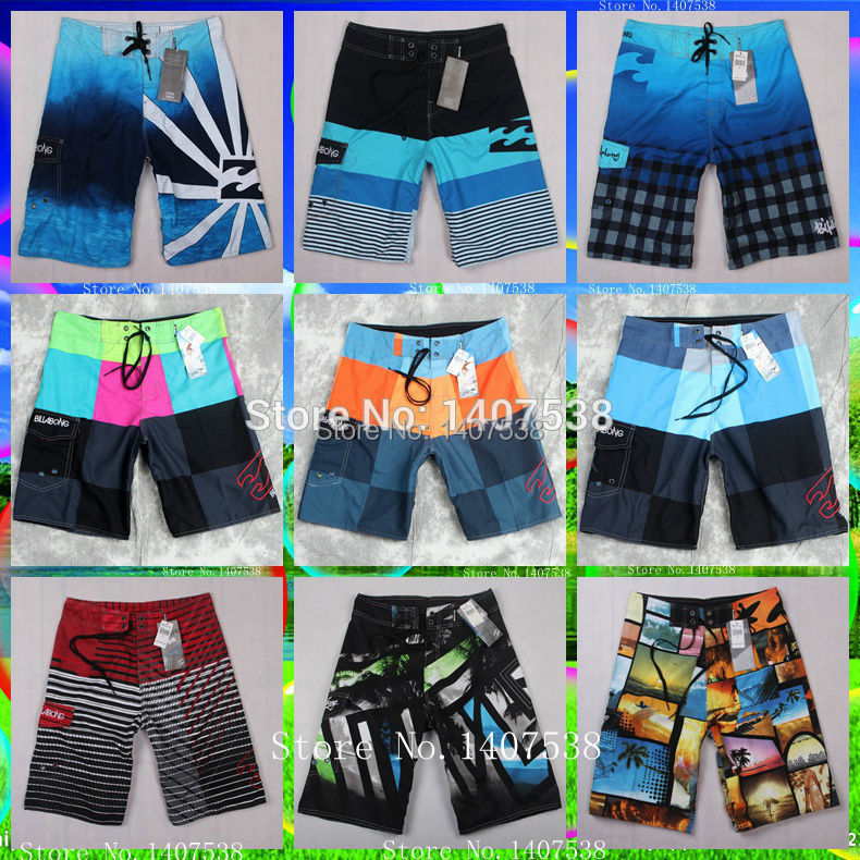Wholesale new men's board shorts beach Brand shorts surfing bermudas masculina de marca swimwear men boardshorts surf(China (Mainland))