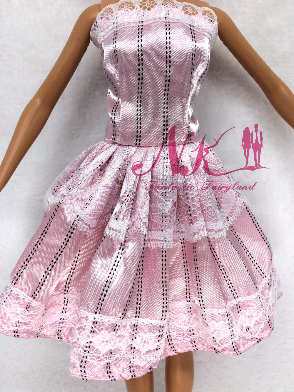 NK One Set Outfit Handmade Style Quick Costume For Barbie Doll Costume Child Woman Birthday new 12 months Greatest Current for teenagers 042D