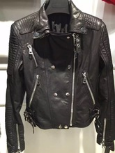 lady leather jacket women genuine leather garment natural leather clothes(China (Mainland))