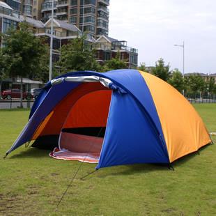 4 6 personnes dans une chambre double tente de camping for Tente de chambre