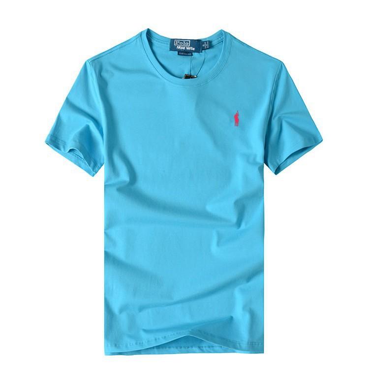 new Small horse men shirt O neck short sleeve polo shirt Tops Tees brand Ralph men
