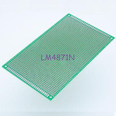 DHL/EMS 50 LOTS Single Side Prototype PCB Tinned Universal Bread board 9x15 cm 90x150 mm FR4 DIY -d2(China (Mainland))