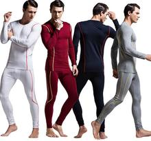 Excellent Fashion Casual Men Winter Fall Modal Sleepwear Sets Sexy Strong Male Undershirt Bodysuit Lingerie Soft Fabric M L XL(China (Mainland))