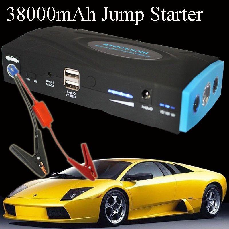38000mAh Auto Car Jump Starter Power Bank Battery Charger Laptop Mobile Phone(China (Mainland))