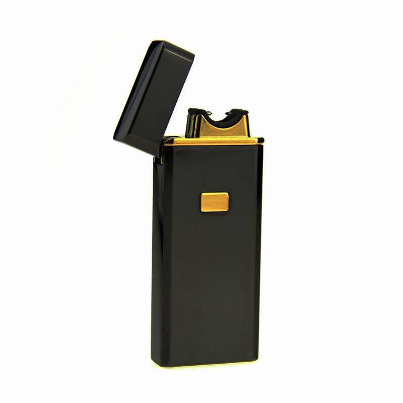 Импа ульс USB зарядка аккумуляторная электронная сигарета Зажигалка отличная designElectricity дуги зажигалки подарочные коробки