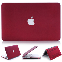 High quality Quicksand laptop Case For Macbook Air 11 13 / Pro 13 15 / Pro Retina 12 13 15 inch matte case For Macbook With LOGO(China (Mainland))