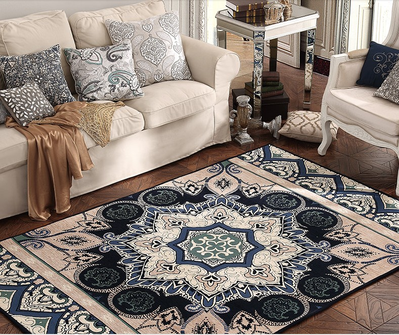 Big Size Persian Carpet Living Room Coffee Table Carpet Rectangle Ground M