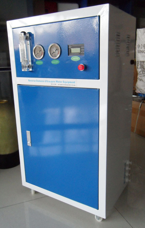 7-60 l / h of deionized water cleaning hospital equipment electronic chemical laboratory with ultra-pure water shipping(China (Mainland))