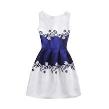 Летнее платье для девочек с бабочками и цветочным принтом; праздничное платье для подростков; дизайнерское торжественное платье принцессы;...(China)