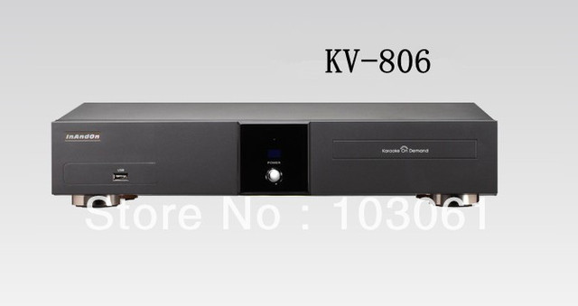 wholesale Inandon new karaoke player KV-806 with 4TB HDD for free shipping