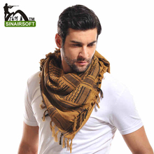 Airsoft Military Shemagh Thicken Muslim Hijab Multifunction Tactical Scarf Shawl Arabic Keffiyeh Scarves Fashion Scarf Women(China (Mainland))