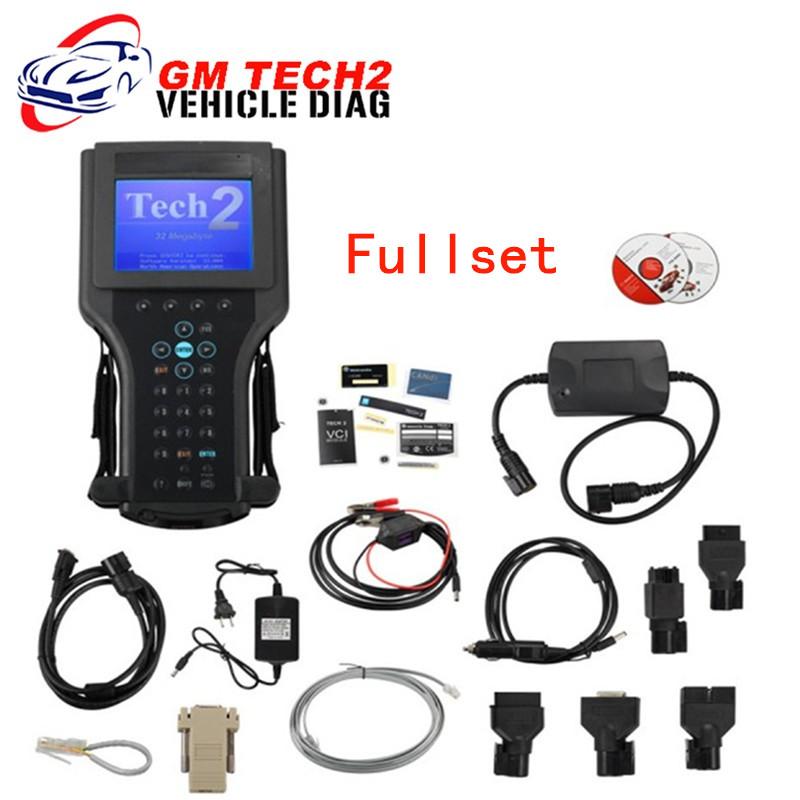 GM Tech2 Vetronix full set diagnostic tool gm tech2 scanner for(SAAB,GM,OPEL,ISUZU,SUZUKI,HOLDEN) DHL free shipping(China (Mainland))