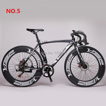 2016 New Fast VISP RD-Machete AL 52cm 700C X 70mm Road Bike Speed Road Bicycle Disc Brake Bicicleta Road Cycling Road Bike(China (Mainland))