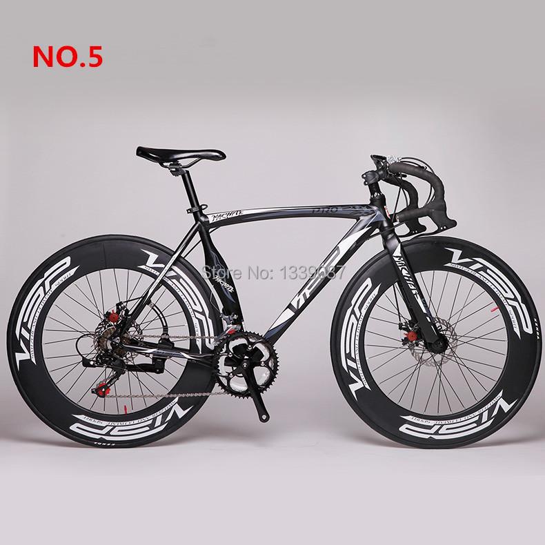 2016 New Fast VISP RD-Machete AL 52cm 700C X 70mm Road Bike Speed Road Bicycle Disc Brake Bicicleta Road Cycling Road Bike(China (Mainland))