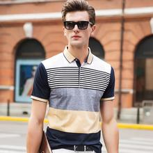 striped polo shirt multi colored 2016 hot sale summer short sleeve cotton men top brand clothing homme plus size 3XL camisa tees