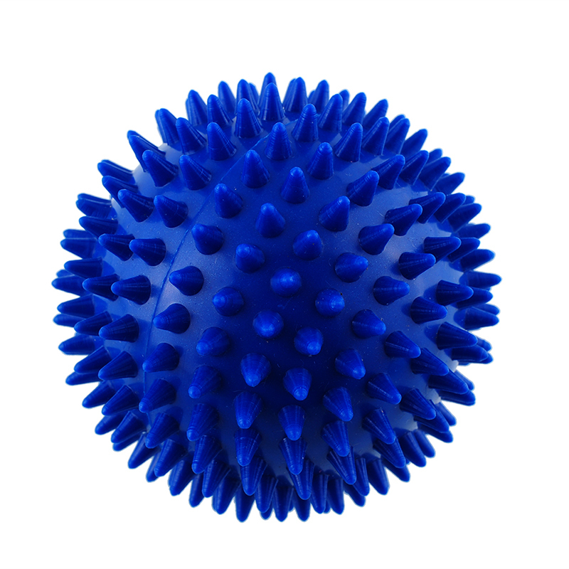9 cm hand massage ball PVC soles hedgehog Sensory training grip the ball Portable physiotherapy ball Catch the ball FM0231(China (Mainland))