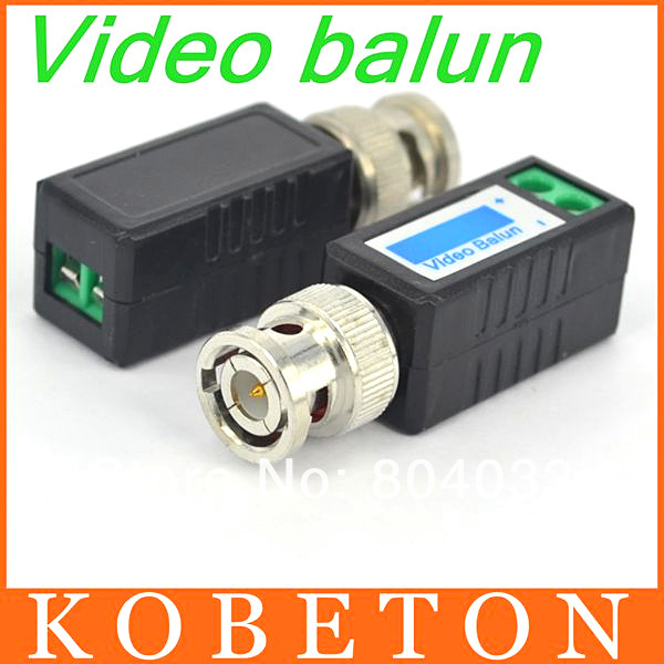 20pcs/lot 2015 NEW Video Balun COAX CAT5 CCTV BNC Twisted UTP Passive Transceiver Cable Coaxial Adapter for camera DVR(China (Mainland))