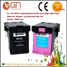 2 sets  Remanufactured For HP 301 Ink Cartridge for HP301 3050se 1050A 2050A 2054A 3050A 3052A 3054A printer
