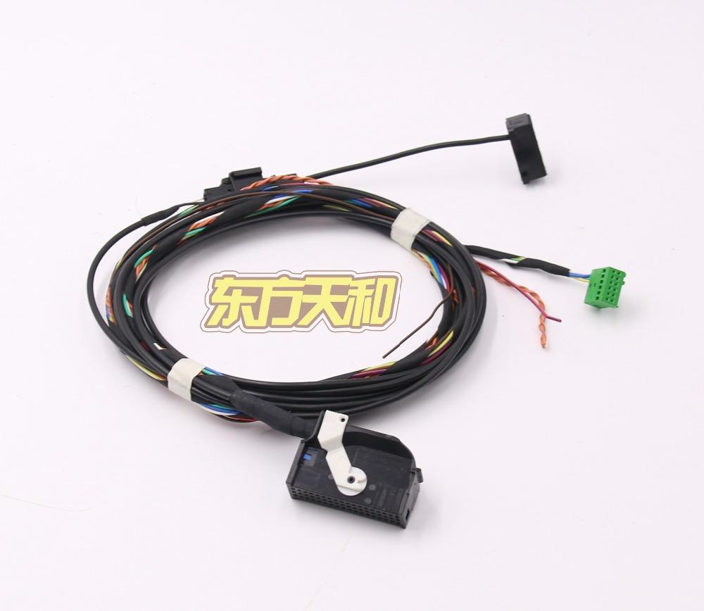 Bluetooth Car Kit Wiring Harness Cable Microphone 8X0035447A RCD510 Tiguan Golf MK6 GTI Jetta MK5 Passat B6 B7 - BeiJing DongFangTianHe Auto Parts store