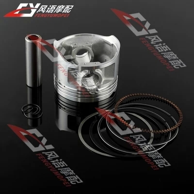 For suzuki GN250 Motorcycle high grade Piston with rings Kit Set motorcycle accessories(China (Mainland))