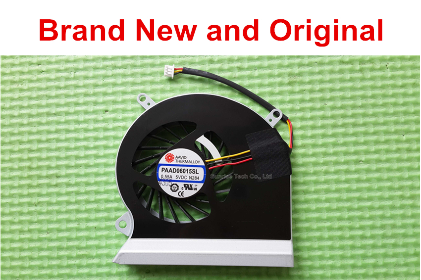 Brand New and Original CPU fan for MSI GE60 16GA 16GC laptop cpu cooling fan cooler PAAD06015SL N284(China (Mainland))
