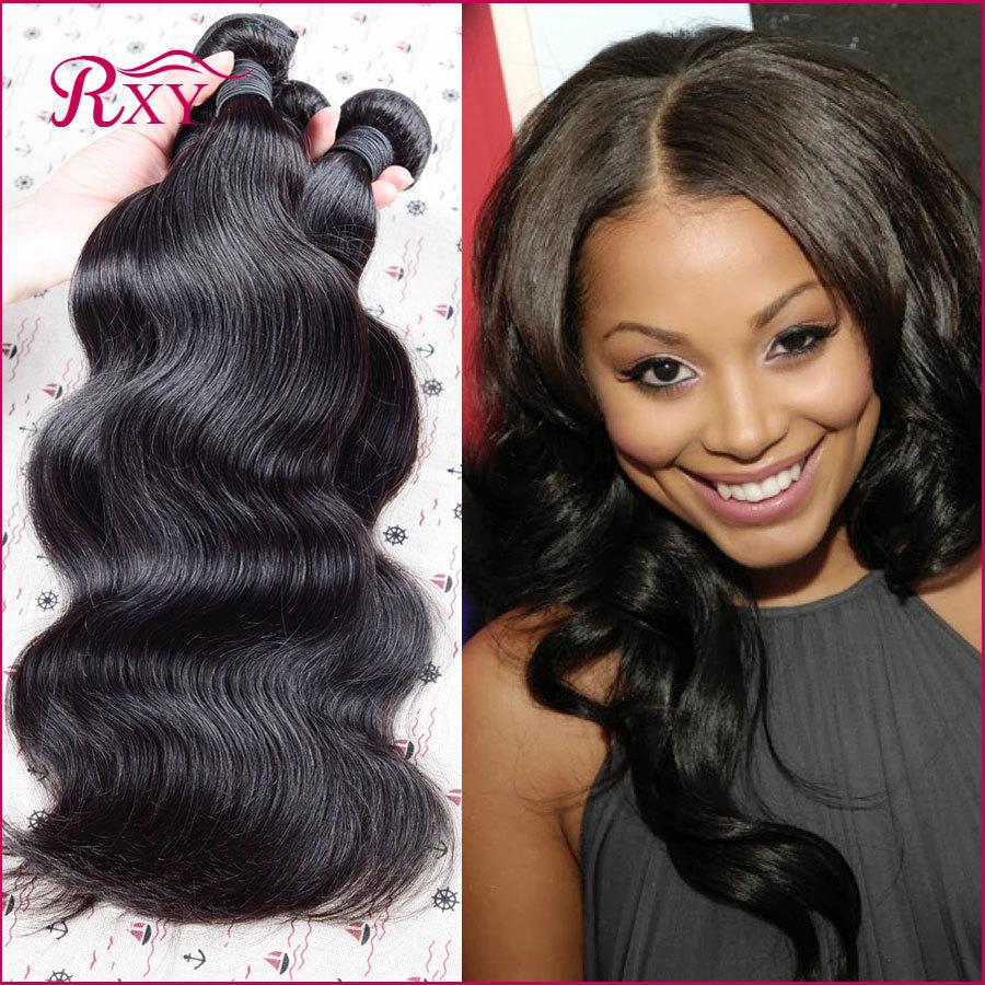 6A Indian Virgin Hair Body Wave 4 Bundles Unprocessed Virgin Indian Hair Body Wave Queen Hair Products Cheap Human Hair Bundles(China (Mainland))