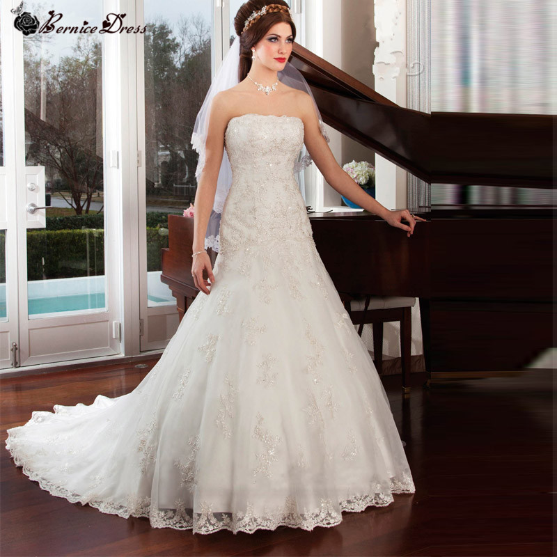 Buy louisvuigon vintage lace wedding for Wedding dress for sale cheap