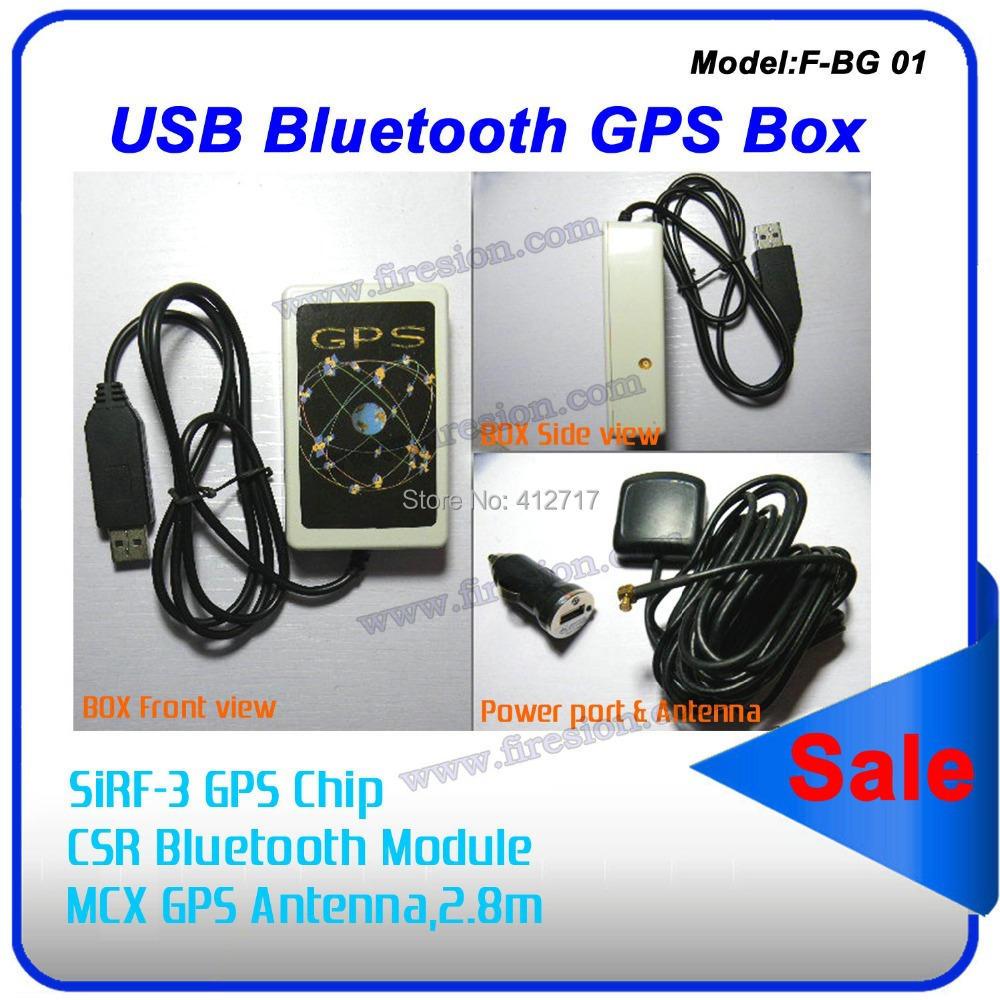 Bluetooth USB GPS module SIRF3 GPS receiver with Antenna for Android IOS system(China (Mainland))