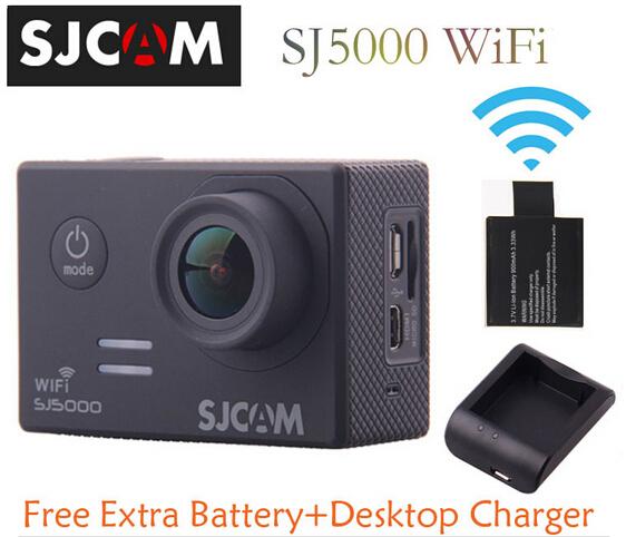 Оригинальный SJCAM SJ5000 wi-fi действие резвится камера 14MP 1080 P 2.0 дюймов водонепроницаемые HD камера + ( бесплатный экстр