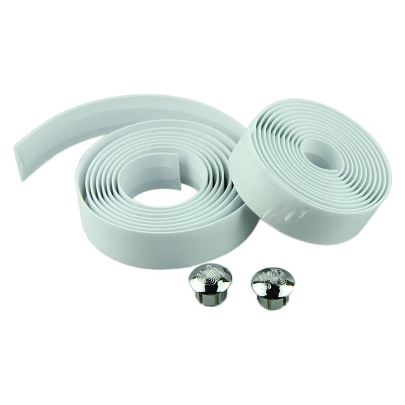 Attractive Cycling Handle Belt Bike Bicycle Cork Handlebar Tape Wrap +2 Bar Plug Handle bar tape Red JE24(China (Mainland))