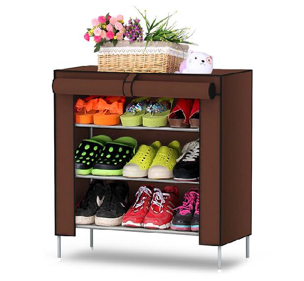 Shoe cabinet Shoe Hanger Non-woven fabrics shoe rack furniture shoe storage(China (Mainland))