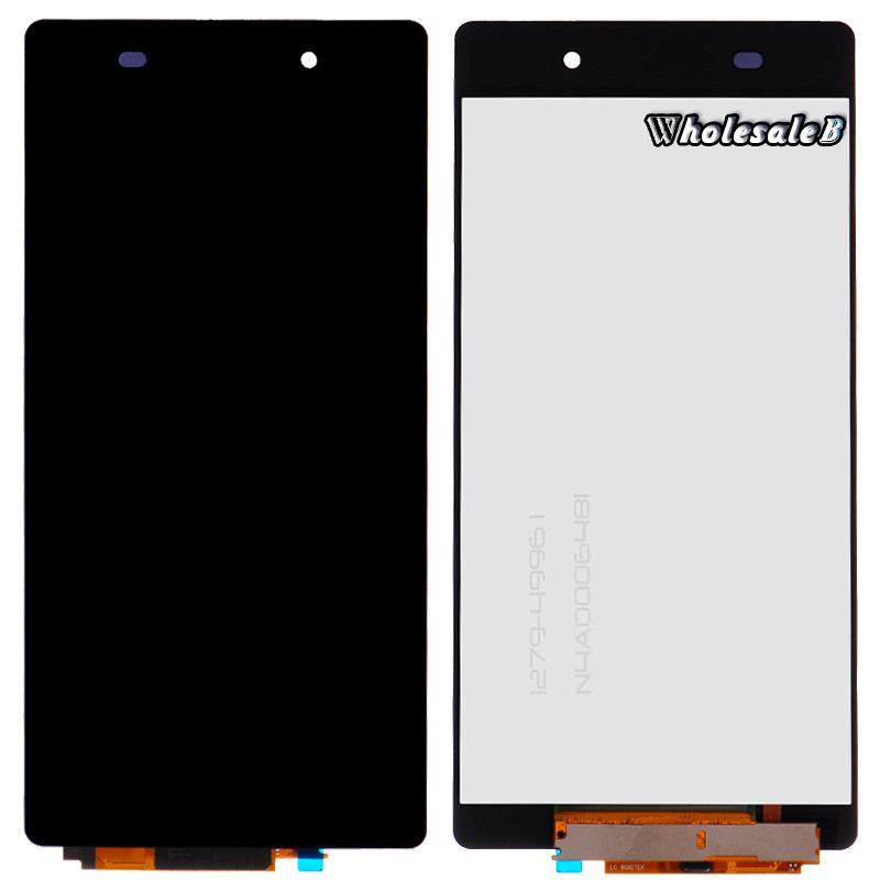 Black LCD Display For Sony Xperia Z2 Touch Screen Digitizer Assembly for Sony Xperia Z2 D6502 D6503 D6543 (3G) Free Ship SONY063(China (Mainland))